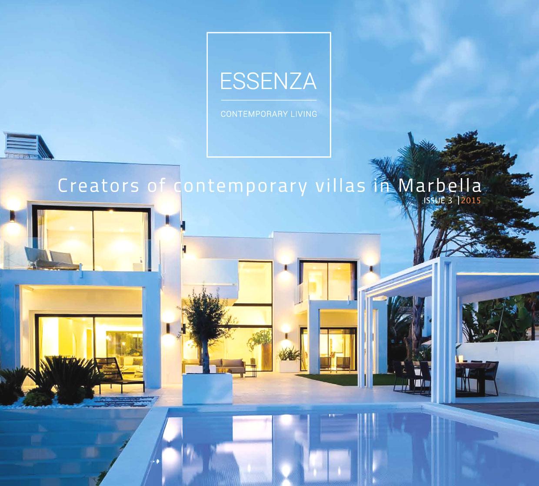 Diseño y maquetación Essenza Magazine